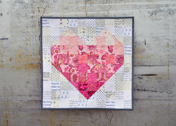 Valentine's Day Mini Quilt