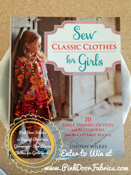 Sew-Classic-Clothes-For-Girls-Book-Giveaway