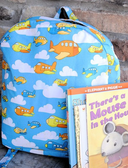 Toddler Backpack - Sewing for Boys
